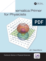 A Mathematica Primer for Physicists - Napolitao