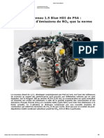 auto-innovations PSA blueHDI