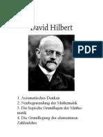 Hilbert, Vier Abhandlungen