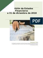 Revision de Estados Financieros (1) AUDITORIA ASEVERACIONES