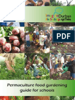 Permaculture food gardening guide for schools