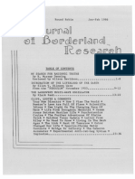 Journal of Borderland Research Vol XLII No 1 January February 1986