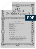 Journal of Borderland Research Vol XLIII No 6 November December 1987