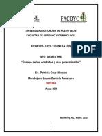 Ensayo de Derecho Civil_ Los contratos y sus generalidades..pdf.pdf