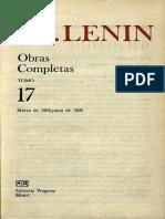 Obras completas. Tomo 17 (marzo 1908 - junio 1909) - Vladimir I. Lenin.pdf
