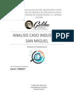 analisis industrias san miguel