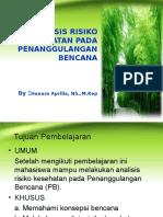 03. Analisis Risiko Kesehatan pada Penanggulangan Bencana