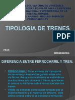 TIPOLOGIA DE TRENES (KEIVIN Y VIDAL)