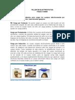 TALLER DE ELECTROSTATICA Y LEY DE COULOMB GUIA N5