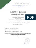 Raport de Evaluare Teren Mazalu