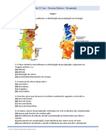 Exercicios Exame Nacional Geografia Recursos Hidricos Precipitação