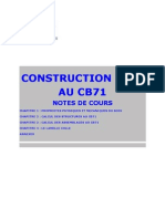 Construction Bois CB71, Univ Artois