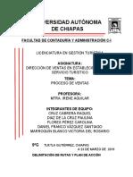 PROCESO DE VENTAS EXPOSICION