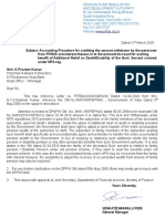 Letter-4 to chairman from PFRDA