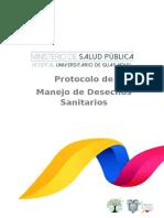 PROTOCOLO DE EVACUACION DE DESECHOS HUG  2019 (Reparado) OKOK.doc