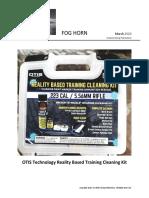 OTIS Technology Reality Based Training Cleaning Kit