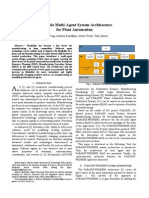 2007 INDIN07 a Flexible Multi Agent System Architecture for Plant Automation