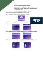 Configuración de Impresoras HP