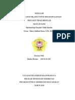 SAMPUL MAKALAH INDIVIDU EPID PTM oleh MARTHA PITRIANA tertanggal 19 Maret 2020