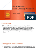 the alchemist analysis  archetypes and literary analysis