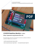 COVID19 Realtime Monitor - Arduino Project Hub