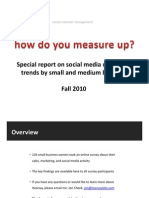 Hearsay Social Media Survey Results