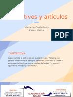 SUSTANTIVOS Y ARTÍCULOS (1)
