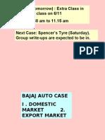 Bajaj Auto Case