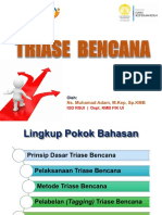 Materi Triase Bencana Upgrade