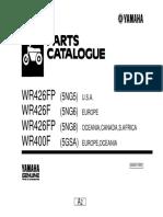 Yamaha Wr426 Parts Catalogue