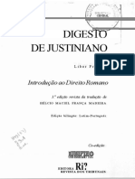 Digesto de Justiniano - Livro I - Agnes e José Cretella