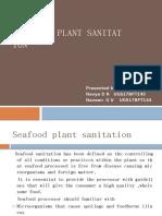 sea food plant sanitation