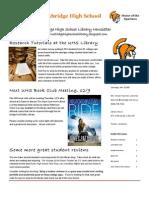 December UHSL Newsletter