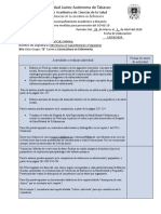 Planeación de Acompañamiento Académico a Distancia 2020