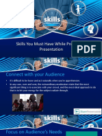 Skills You Must Have While Presenting Presentation