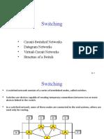 Switching - Data Communications