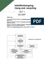 Kunststoffrecycling