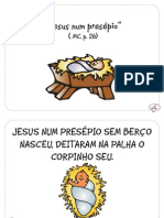 """Jesus num presépio"" (MC, p.26)"