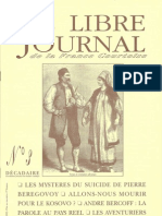 Libre Journal de la France Courtoise N°003