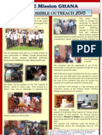 Ghana Mission Possible Oct 2010_Update