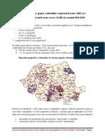 Analiza sezon gripal 2018-2019