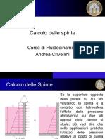 FLUIDODINAMICA - Calcolo delle SPINTE (Univpm)