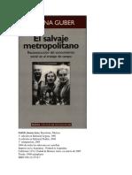 Introducción al salvaje metropolitano