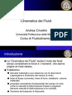 FLUIDODINAMICA - CINEMATICA (Univpm)