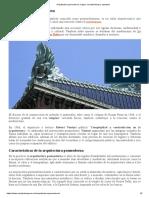 Arquitectura posmoderna, origen, características y ejemplos