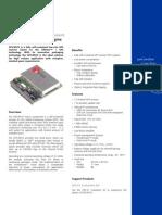 GPS-MS1E GPS Receiver Macro Component - Brochure (GPS G1-MS1-03001)