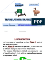 Translation Strategies, By Dr. Shadia Y. Banjar.ppt [Compatibility Mode]