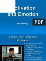 AP - Motivation and Emotion.ppt