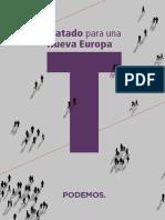 Tratado Nueva Europa - Resumen_Programa_Podemos