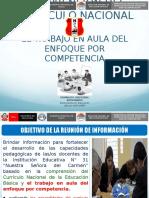 Exposicion-COMPRENSIÓN DEL CURRÍCULO NACIONAL Y EL TRABAJO EN.ppt
